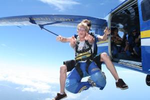Skydive the Beach freefall 2